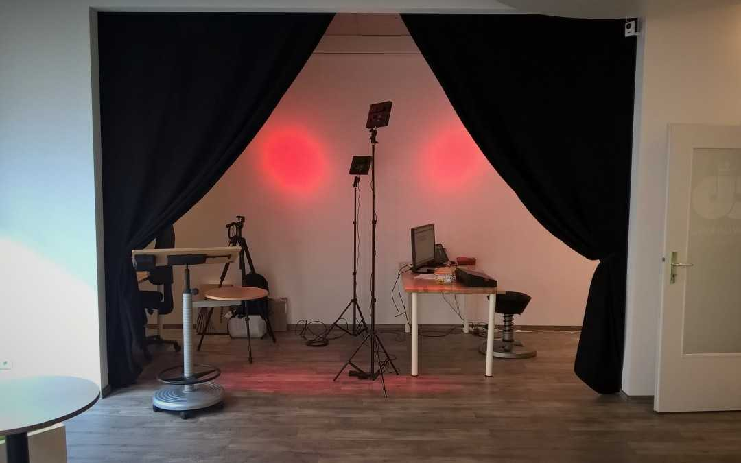 Opening a flexible multimedia studio in Bonn's first coworking space.