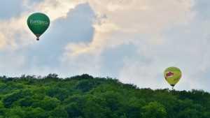 Baloons over venusberg