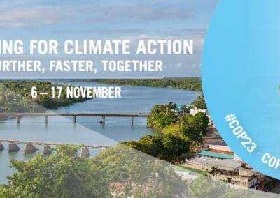 SLoCaT COP23 live stream events