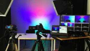 Simple multi camera live stream setup.
