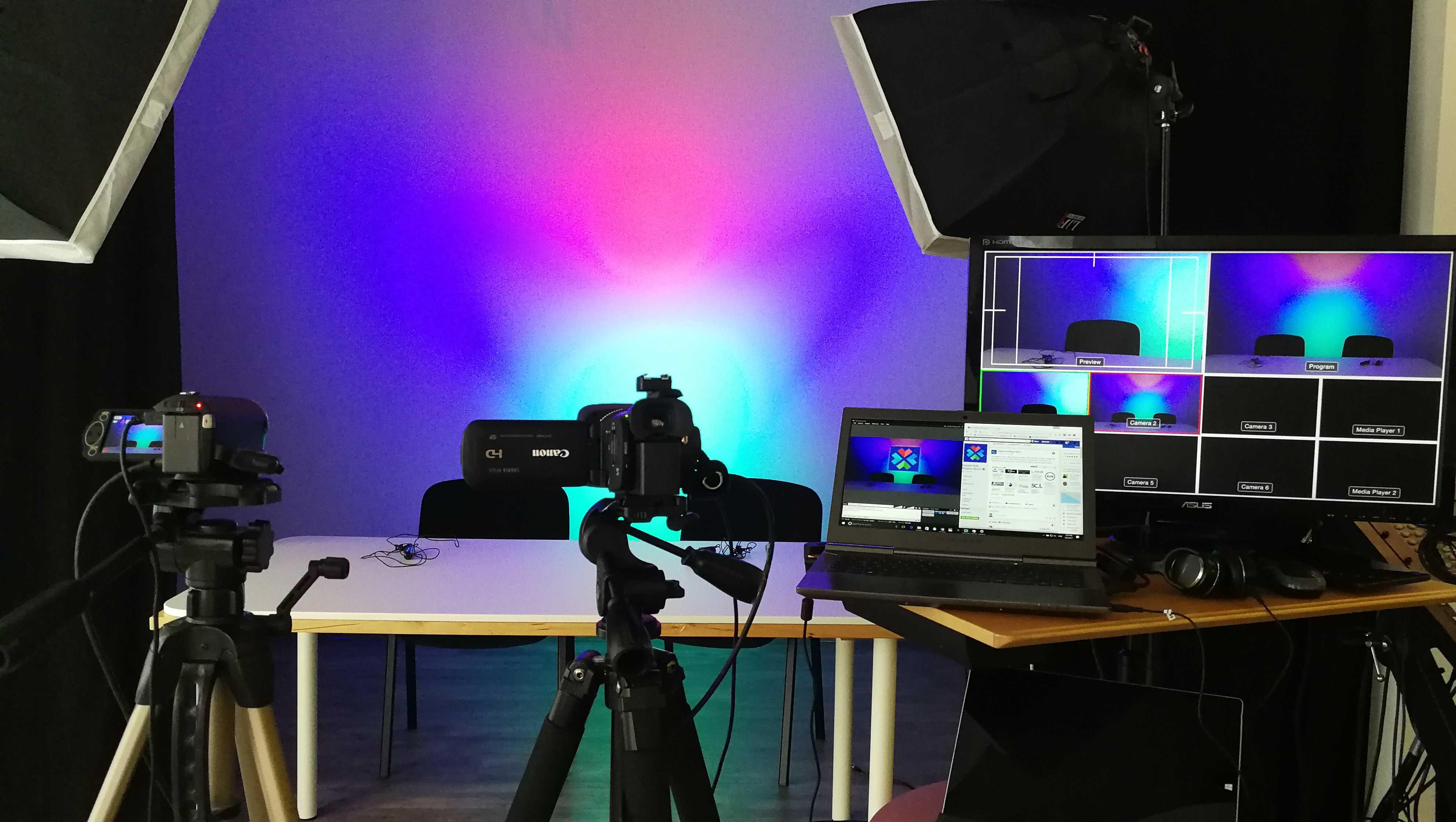 Multicam streaming setup